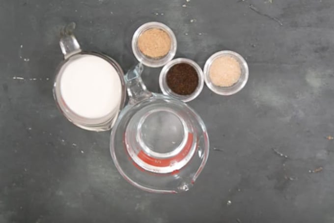 Tandoori chai ingredients