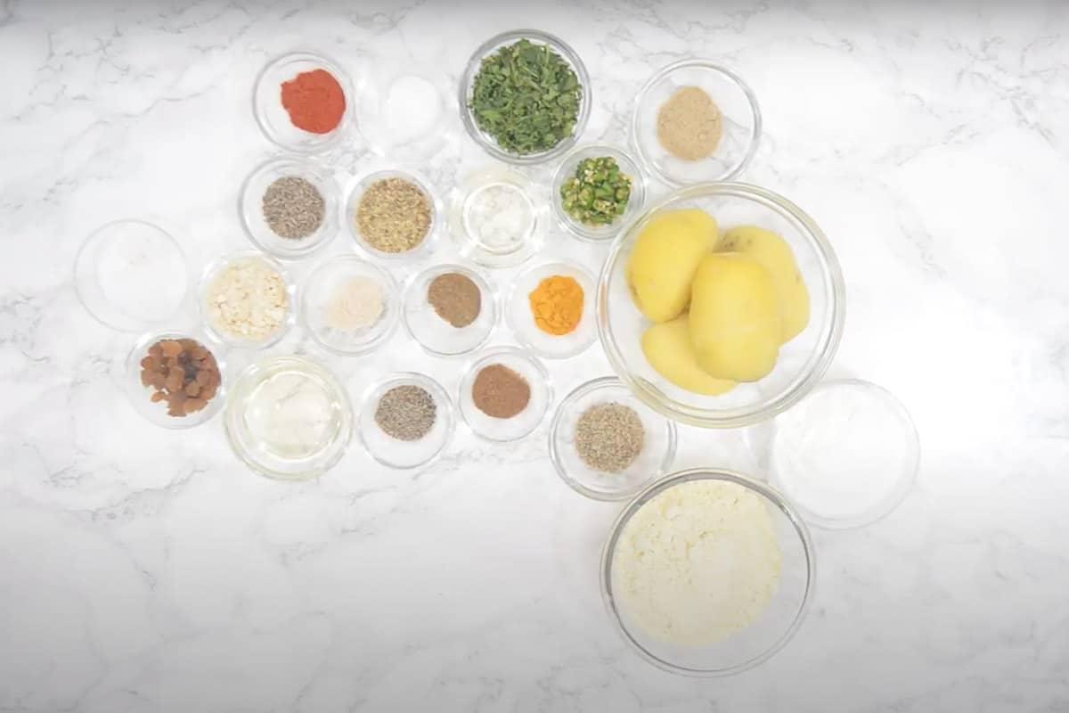 Aloo Bonda Ingredients