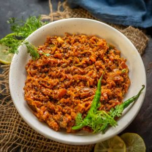 Lauki ka Bharta is a delicious Indian curry where grated bottle gourd is cooked with spices. It can be served with any Indian style meal. Here is how to make lauki ka bharta recipe.
