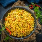 Semiya Upma or Vermicelli Upma is an Indian breakfast dish made using vermicelli. This desi nashta is filling and very easy to make. Here is how to make it.