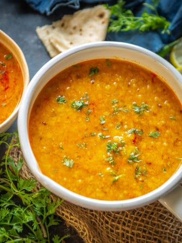 Toor Dal also known as Arhar Dal, Peeli Dal or Yellow dal is a lentil preparation which is a must have in most Indian households. It is healthy and super easy to make and tastes delicious. Here is how to make toor dal recipe.