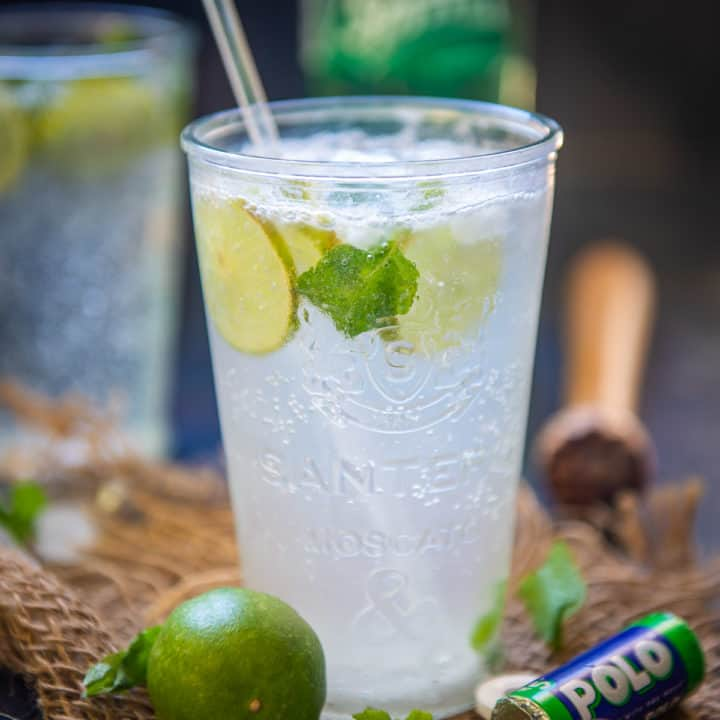 Virgin Mojito is a Non Alcoholic take on the classic Mojito Drink. It's a refreshing cocktail and perfect to be served for parties. Here is how to make it.