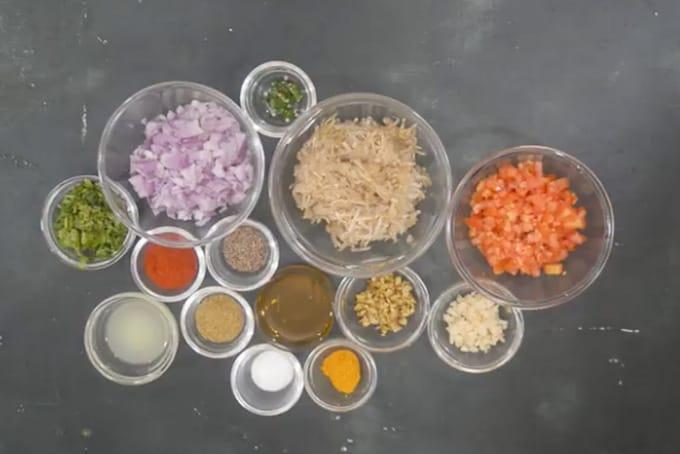 Lauki ka Bharta ingredients