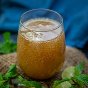 Masala Jeera Soda is a refreshing Indian summer drink made using cumin seeds. Here is how to make it.