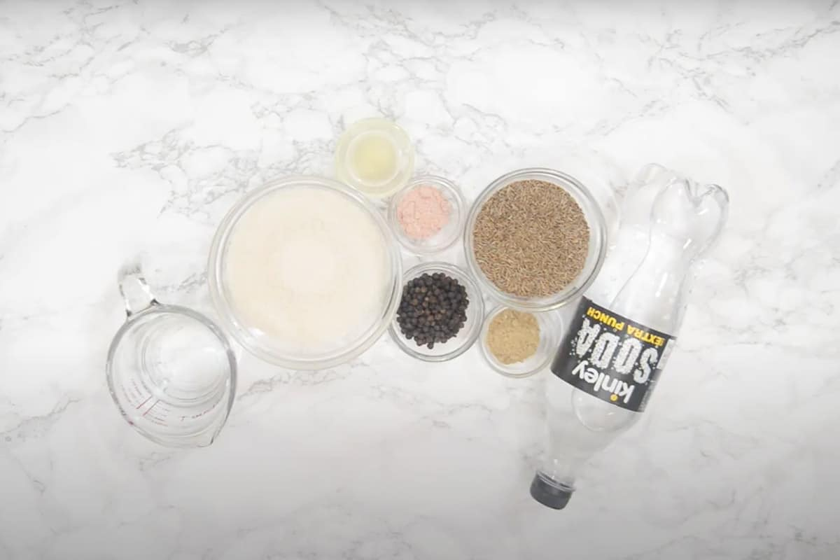 Jeera Soda Ingredients
