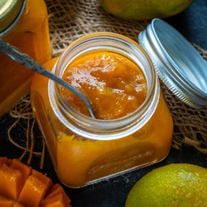 A fresh homemade jam recipe, Mango Jam that will surely satisfy you taste buds and make your weekday breakfast scenes easy and effortless. Make it from scratch using this recipe.
