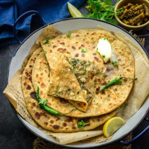 Broccoli Paratha is an Indian stuffed bread that is loaded with the goodness of broccoli. It is a great breakfast, lunch, or dinner option and is a great way to sneak in the veggies in your family's diet. Here is how to make it.