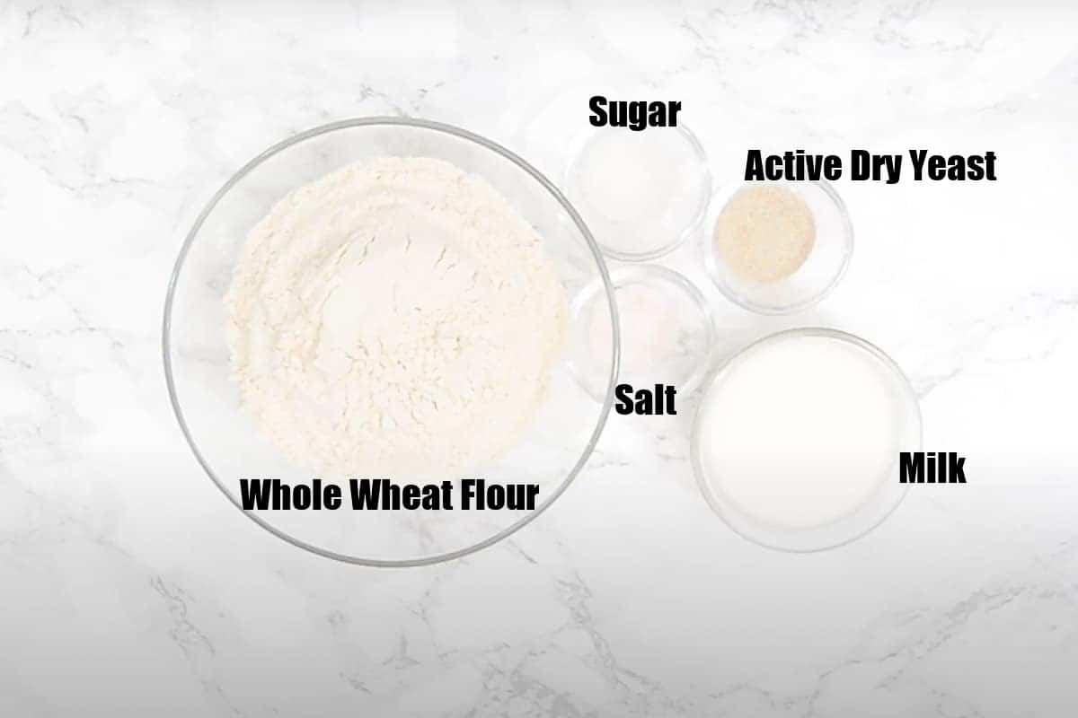 Khamiri Roti Ingredients.