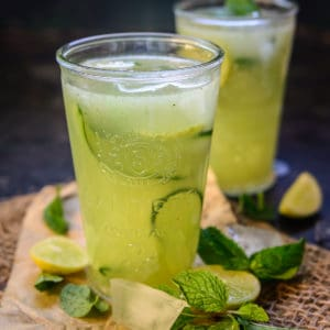 A refreshing summer recipe that is made with a fantastic combination of cucumber and mint leaves, this Cucumber Cooler will surely give you some relief from the scorching heat outside.