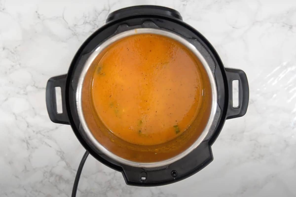 Ready Instant Pot Tomato Soup.