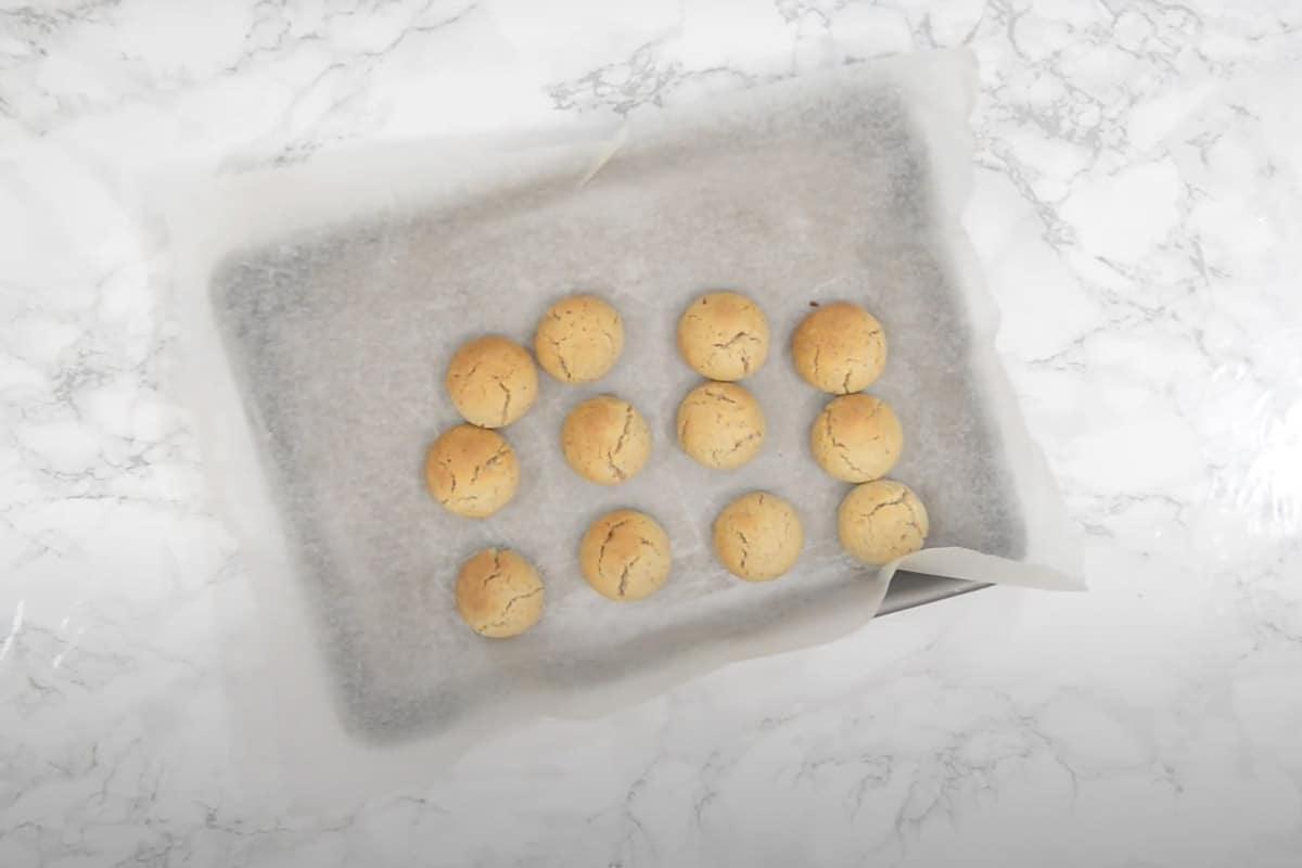 Baked Italian Wedding Cookies.
