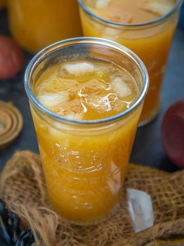 Pumpkin Juice is a copycat Non Alcoholic punch from the Wizarding World of Harry Potter at Universal Studios. Serve it cold or warm or spike it with some alcohol for an adult version, this Fall drink is going to be a hit.