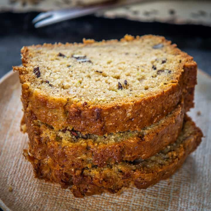 A tender and super moist zucchini bread is made with the combination of zucchini and flour with a hint of vanilla extract and cinnamon. Here is how to make it.