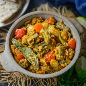 Bhindi Do Pyaza Recipe Step By Step Video Whiskaffair