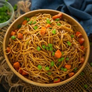 Hibachi Noodles Recipe Step By Step Video Whiskaffair