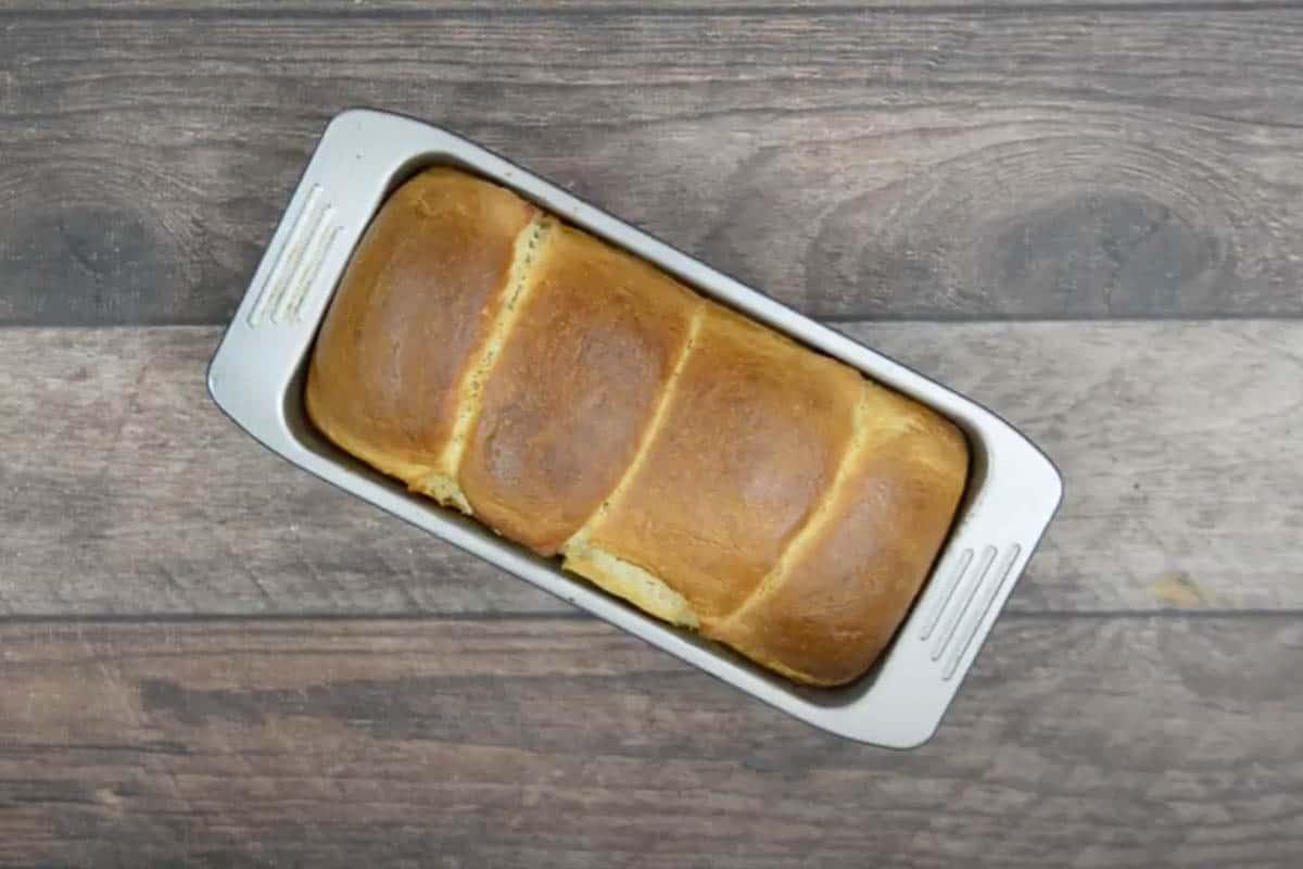 Ready Hokkaido milk bread.