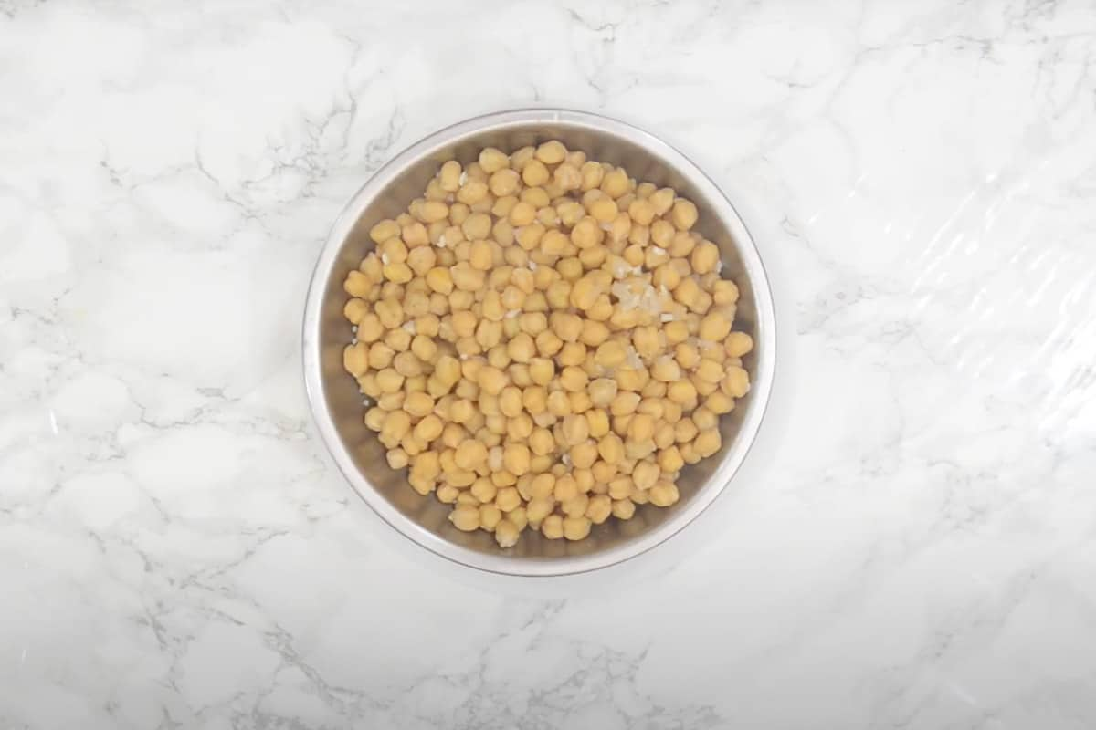 Ready Instant Pot Chickpeas.