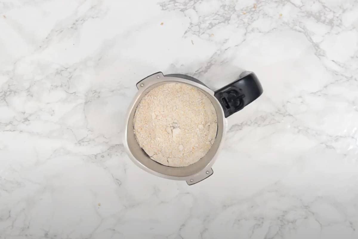 Powdered oats.