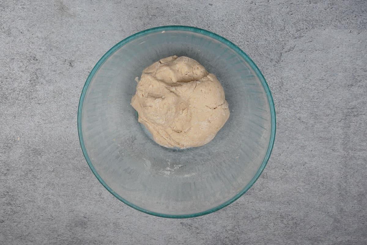 Tight dough made.