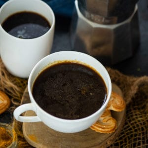 Warm, spicy, and comforting, this Turmeric Coffee or Curcumin Coffee is great to sip on cold winter days. Make the mix and add it to your fav coffee.