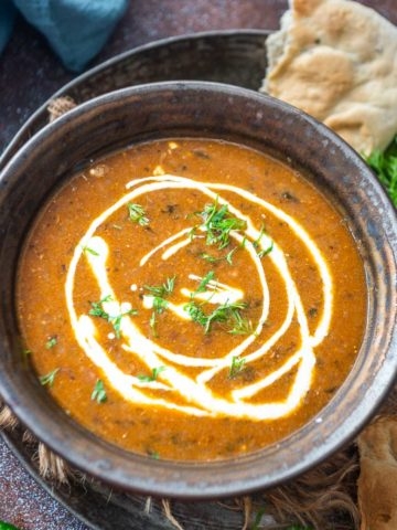 Rich, Creamy, and Buttery, this Instant Pot Dal Makhani is nothing less than amazing. Make this restaurant-quality dish with just a few ingredients in under an hour in an Instant Pot