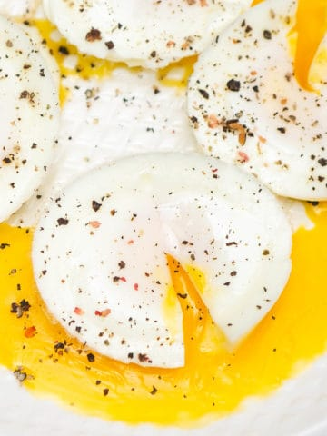 Make poached eggs in instant pot without fail every single time. These require no hands-on cooking and get ready in minutes. You'll never go back to any other method, I am promising you.