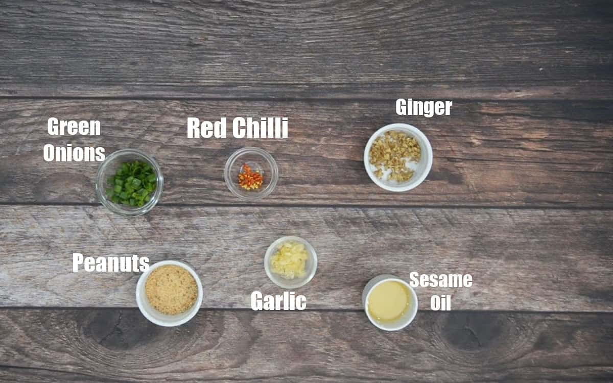 General Tso Tofu Ingredients 4