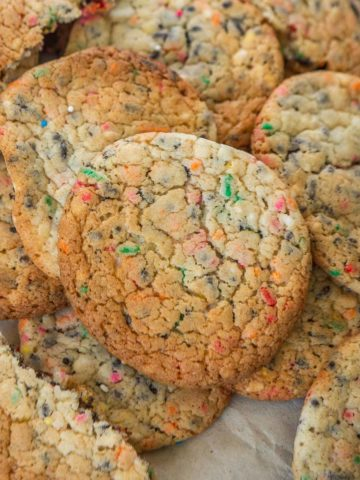 Incredibly delicious, soft, fluffy, and made using just 3 ingredients, these cake Mix Cookies are a perfect short cut dessert when you crave something good to eat but are pressed with time. Check out the recipe.