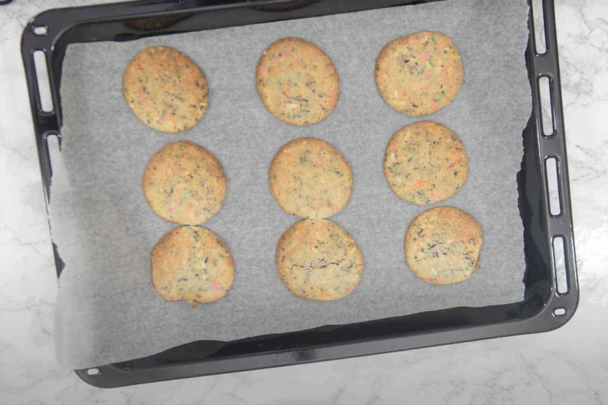 Ready cake mix cookies.