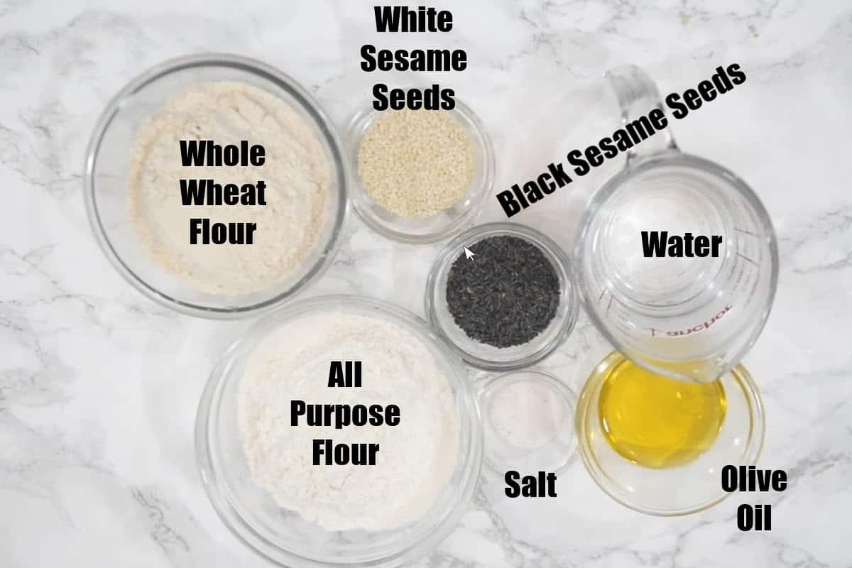 Lavash Crackers Ingredients.