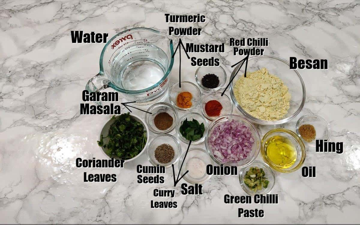 Pithla Ingredients.