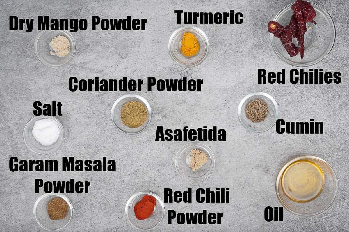 Aloo Methi Ingredients 2