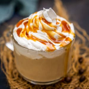 Made using 3 ingredients and 5 minutes, Starbucks copycat caramel latte is a breeze to make at home at a fraction of the cost. Make this espresso-based beverage at home using my easy recipe.