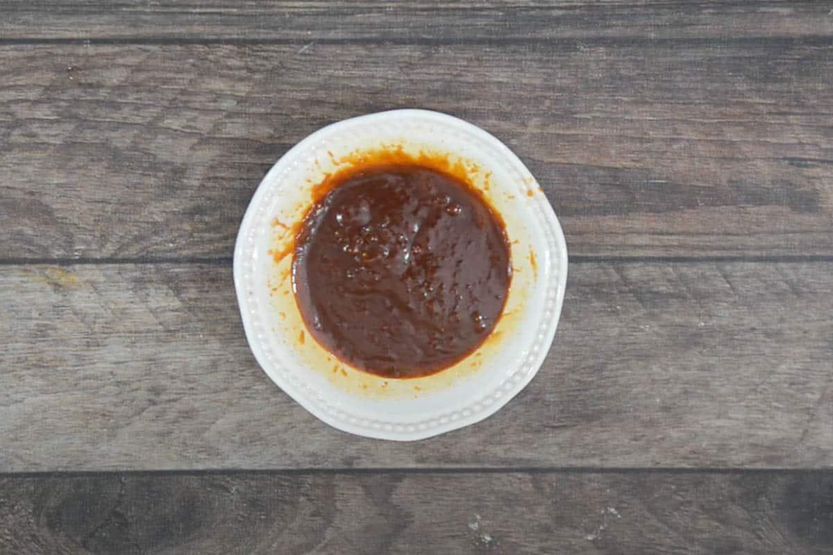 Ready gochujang dipping sauce.