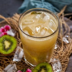 Kiwi soda is a refreshing summer drink that comes together in just 15 minutes. Make it using simple ingredients and beat the heat this summer. Here is how to make it.