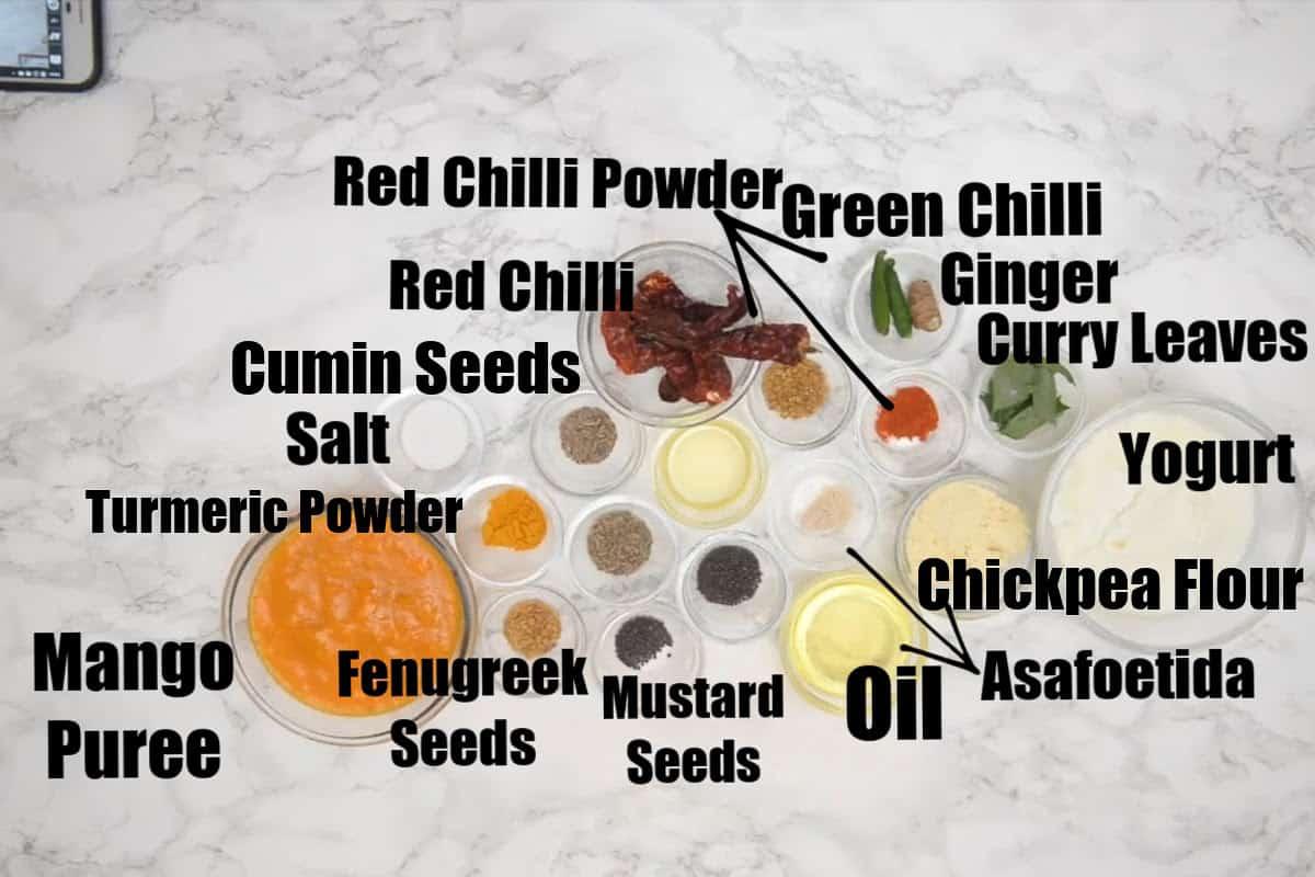 Fajeto ingredients.