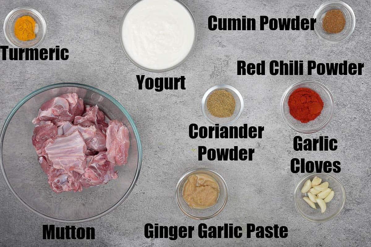Laal Maas Ingredients 2