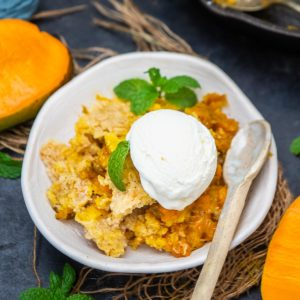 Make this classic Southern mango cobbler in under 20 minutes. This easy and quick dessert is a great quick fix for the days when you want to eat something sweet, summery, and delicious. Here is how to make it.
