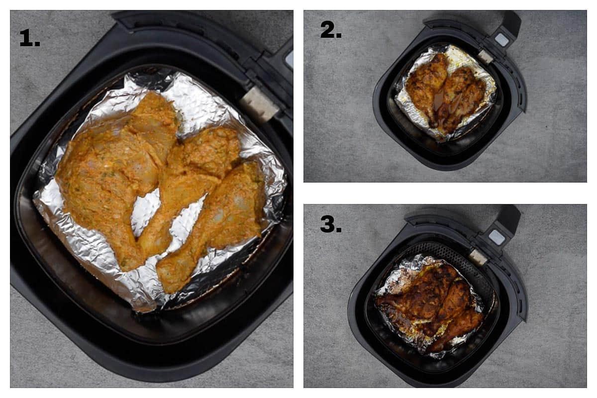 Air Fryer Tandoori Chicken.