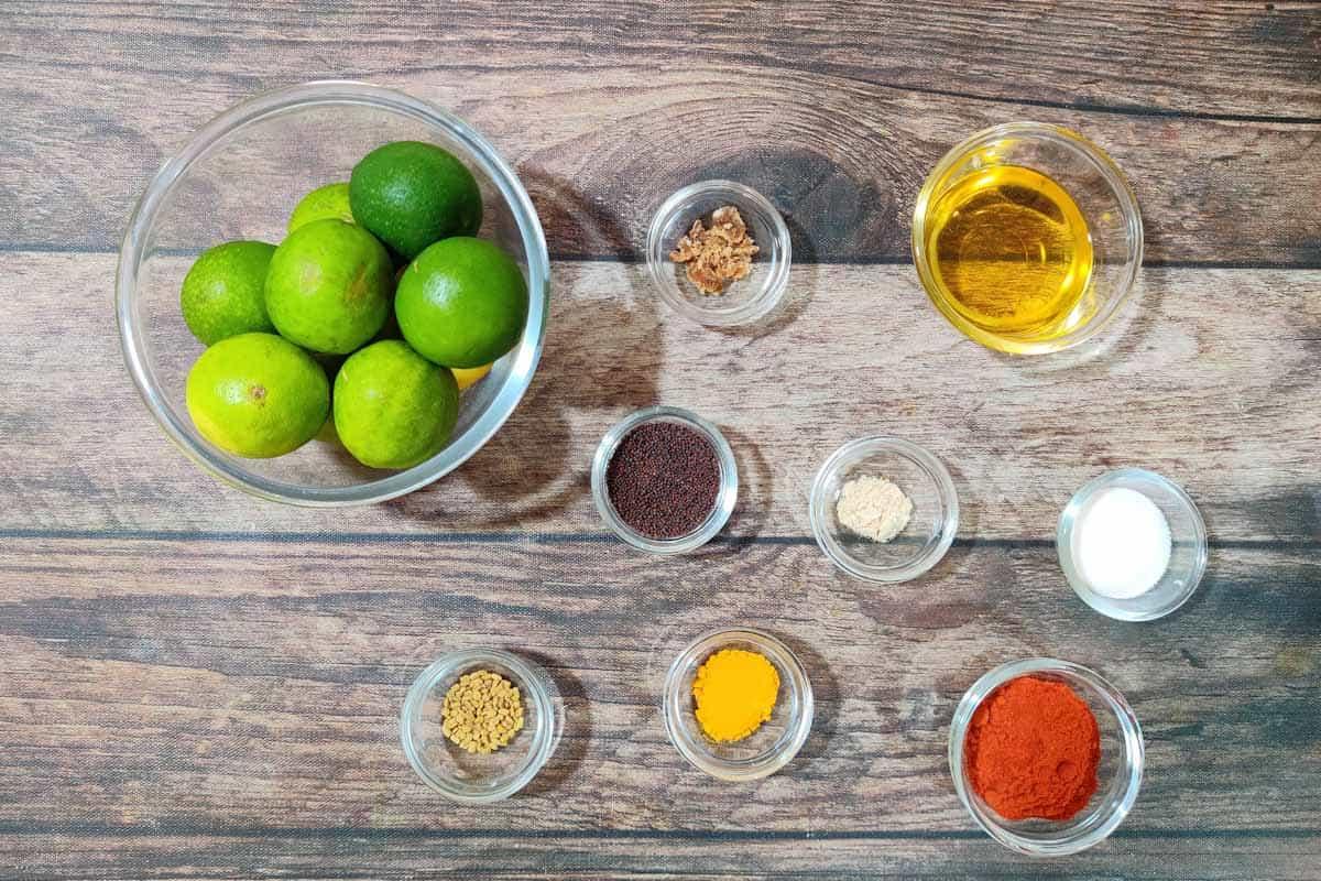 Elumichai oorugai ingredients.