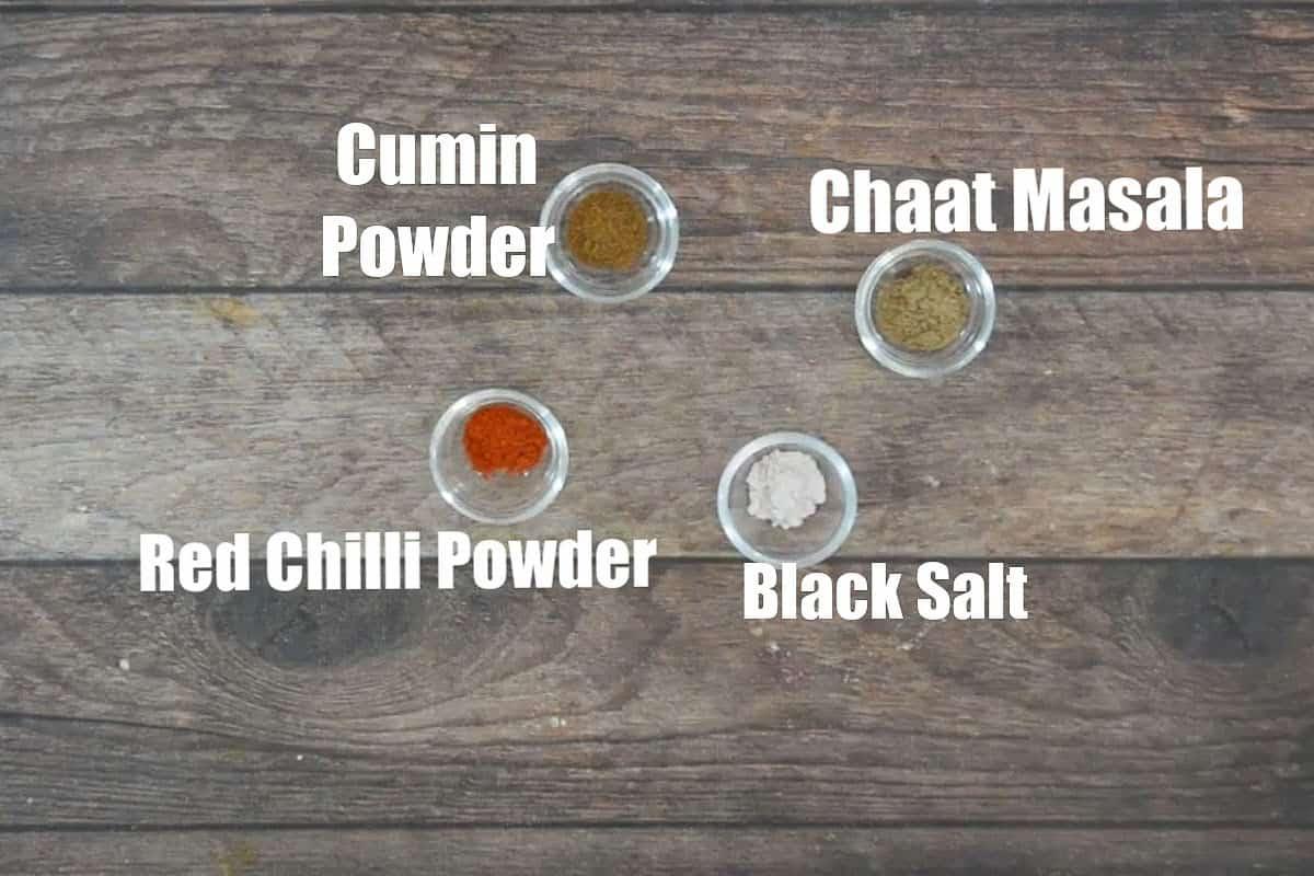 Jeeravan masala ingredients.