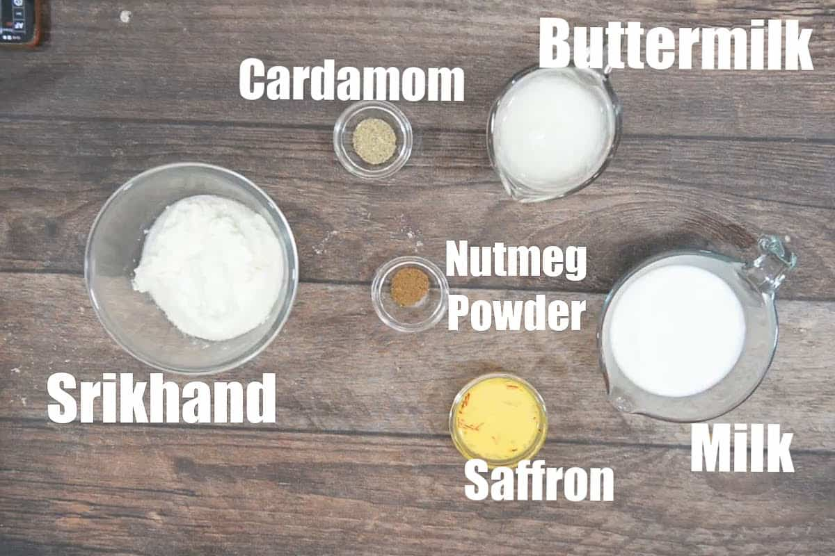 Piyush ingredients.