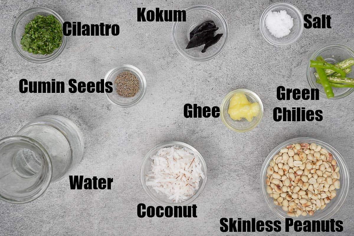 Shengdana Amti Ingredients.