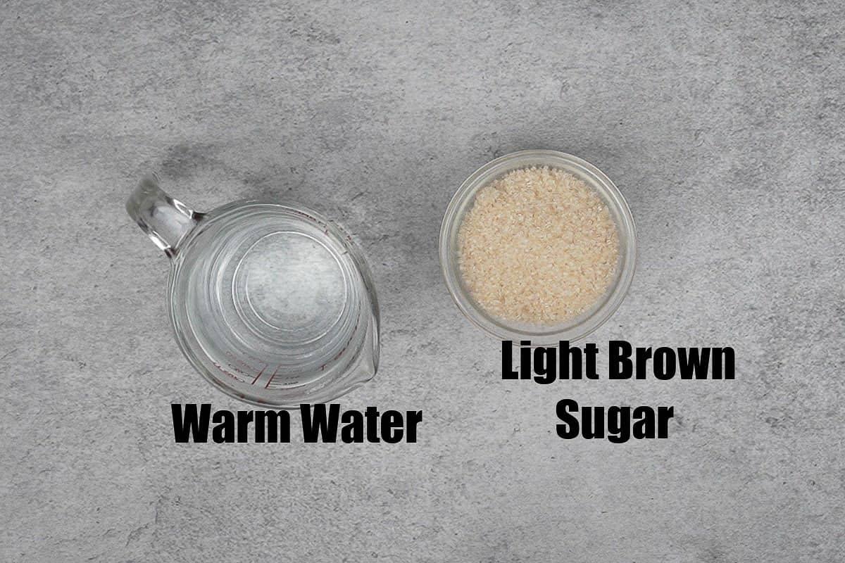 Browning sauce ingredients.