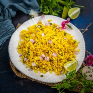 Poha Bhel is a healthy snack that you must try. It is easy to make, vegan and great to munch along with tea or coffee. Here is how to make it.