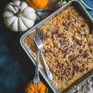 pumpkin recipe used in fall setting