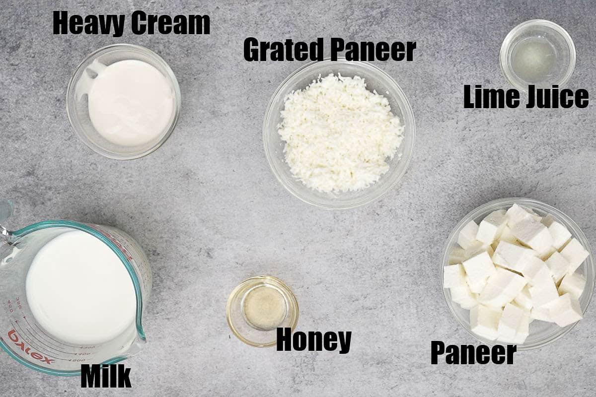 Paneer lababdar ingredients 2